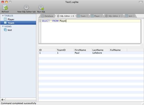 LogicalVue Software releases SQLite Studio