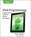 Pragmatic Bookshelf announces 'beta' version of iPad programming book