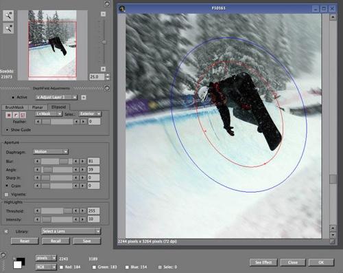 HumanSoftware releases DepthField for Photoshop, Aperture, Lightroom