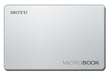 MOTU introduces the MicroBook audio interface