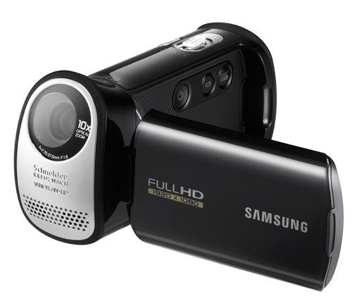 Samsung debuts HMX-T10 camcorder