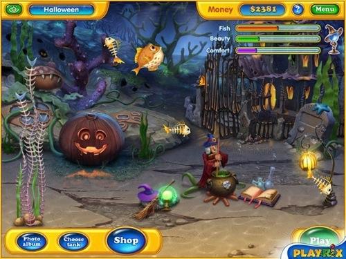 Playrix launches Fishdom: Spooky Splash for Mac