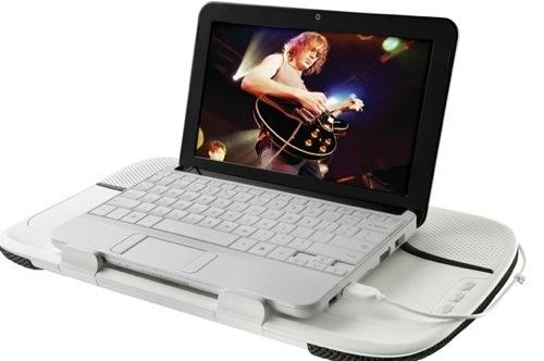Logitech releases Speaker Lapdesk N550