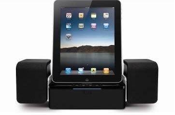 iLuv debuts iPad compatible speaker dock