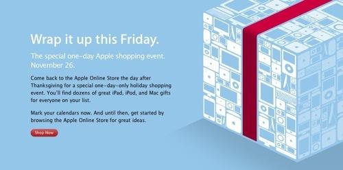Apple plans Black Friday sale