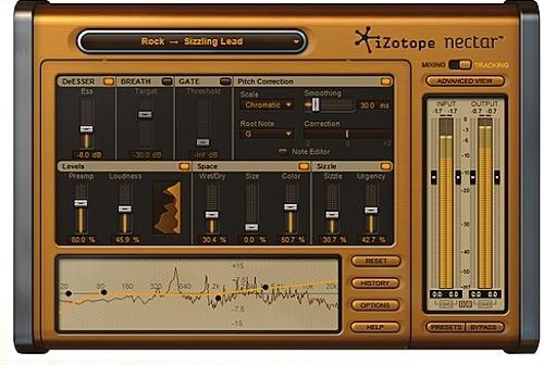 iZotope announces Nectar vocal suite