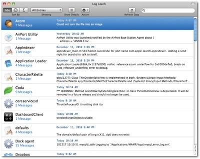 Creastoric introduces Log Leech for Mac OS X