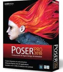 Poser Pro 2010 is time-saving design, animation program