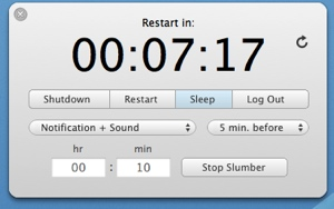 NIWO Slumber is new tool/timer for Mac OS X
