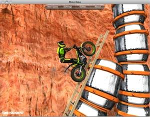 Motorbike game roars onto the Mac