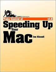 TidBits Publishing publishes 'Speeding Up Your Mac'