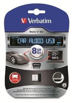 Verbatim ships Store 'n' Go car audio USB drive