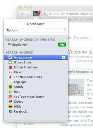 OpenSearchForSafari revved for Safari 5.1