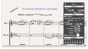 Sibelius 7 offers 64-bit support, MusicXML interchange support