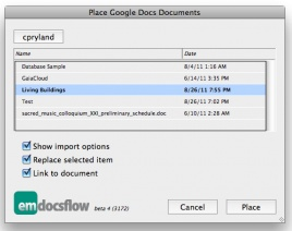 DocsFlow for InDesign revved to version 7.0