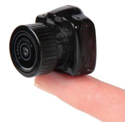 Hammacher Schlemmer introduces The World's Smallest Camera