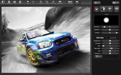 Color Splash Studio splashes onto the Mac
