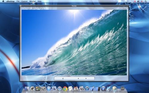 Decorate your Mac desktop with uDesktop 1.0
