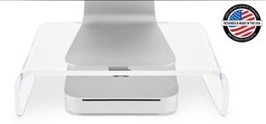 NewerTech announces NuStand mini XL Acrylic Riser for Mac mini