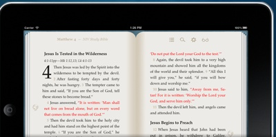 Zondervan's NIV Study Bible comes to the iPhone, iPad