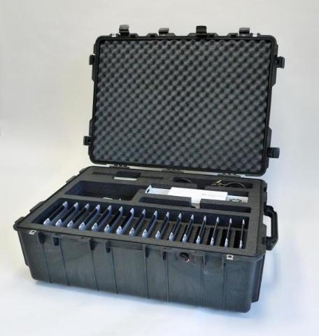 Transport cases designed to provide safe delivery of iPads