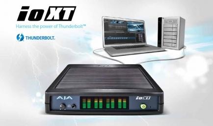 AJA Io XT with Thunderbolt is shipping