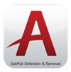 Amsys scans, deletes SabPub malware
