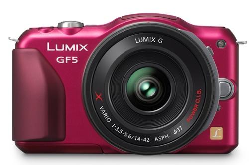 Panasonic unveils LUMIX GF5 camera