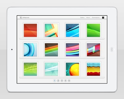 2048pixels launches wallpaper sharing site for retina displays