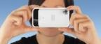 iPhone camera case has built-in, sliding polarizing filter