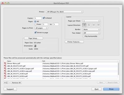 Zevrix releases BatchOutput PDF