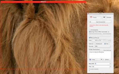 Precise Screenshot is new screenshot tool for Mac OS X