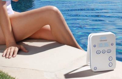 iShower is new, water resistant Bluetooth speaker