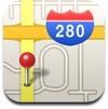 Apple's own iOS 6 Maps app seems a bit lost
