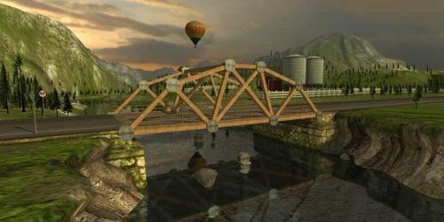 Bridge building sim comes to the Mac