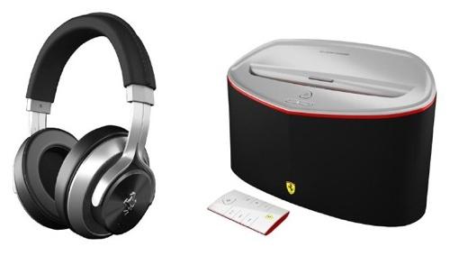 Ferrari by Logic3 drives out new speaker dock, headphones
