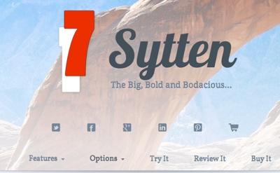 seyDesign releases Sytten RapidWeaver theme