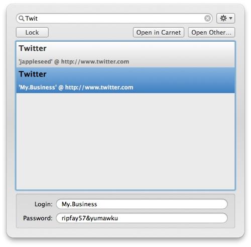 Kool Tools: Carnet for Mac OS X