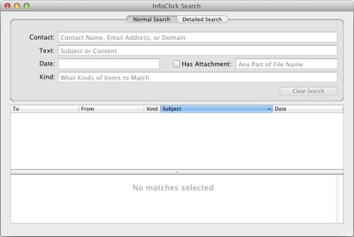 Nisus Software releases InfoClick for use with Apple Mail