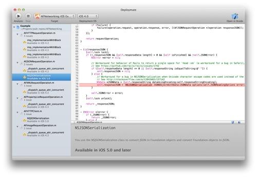 Deploymate helps developers detect unavailable API calls