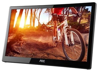 AOC unveils 16-inch, portable USB monitor