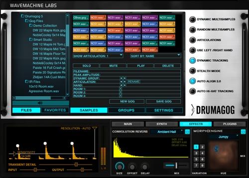 Drumagog for Mac OS X beats to version 5.2