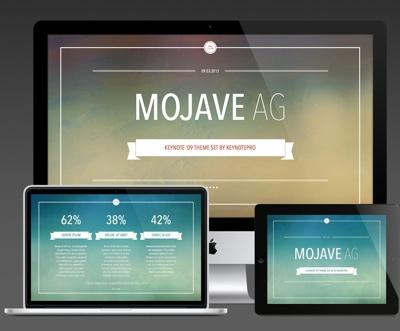 KeynotePro gives us Mojave AG themes for Keynote '09