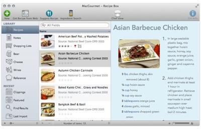 Mariner acquires, updates MacGourmet, MacGourmet Deluxe, more