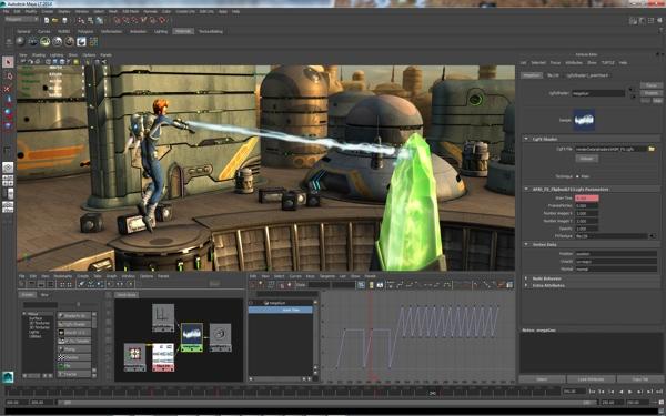 Autodesk releases Maya LT Extension 1