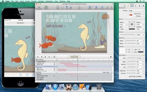 Kool Tools: Tumult Hype for Mac OS X