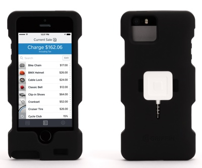 Square and Griffin team up for Merchant Case + Square Reader