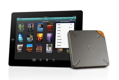 LaCie Fuel for the iPad, Mac doubles storage capacity
