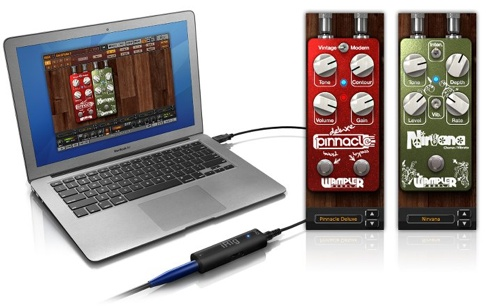 IK Multimedia adds Wampler Pedals to Amplitude Custom Shop
