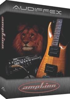 Audiffex advancesampLionsoftware guitar processor to version 1.1